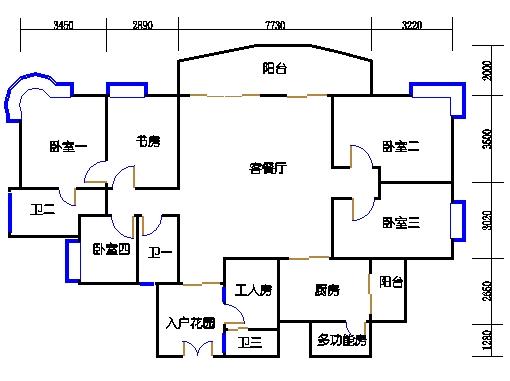 8栋12-26层04单元