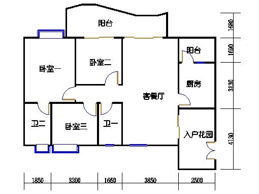 9栋25-29层03单元