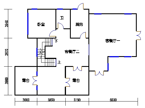 E单元二层