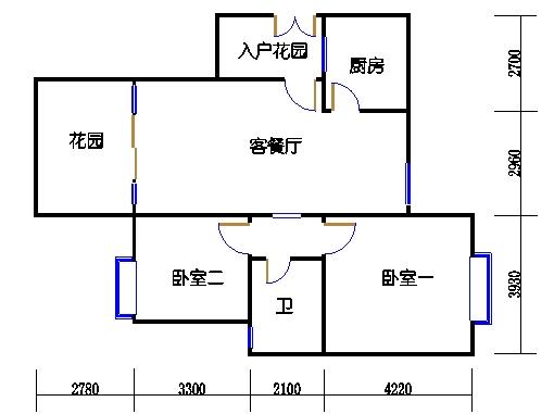 A1单元27层