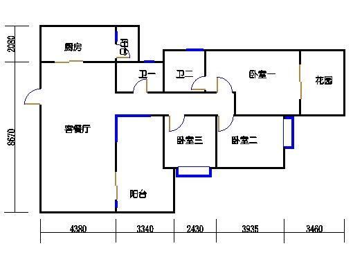 C1单元偶数层