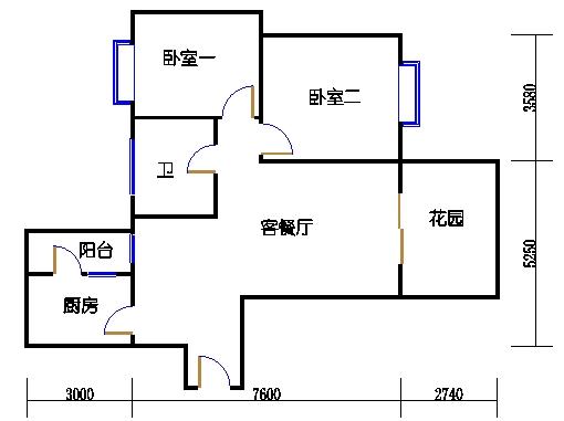 D2单元偶数层