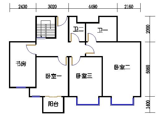 D1-Y2单元上层