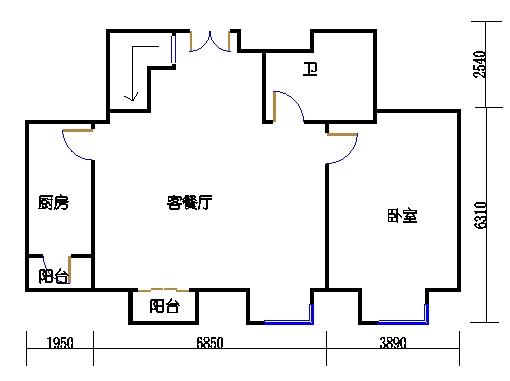 D4-Y2单元下层
