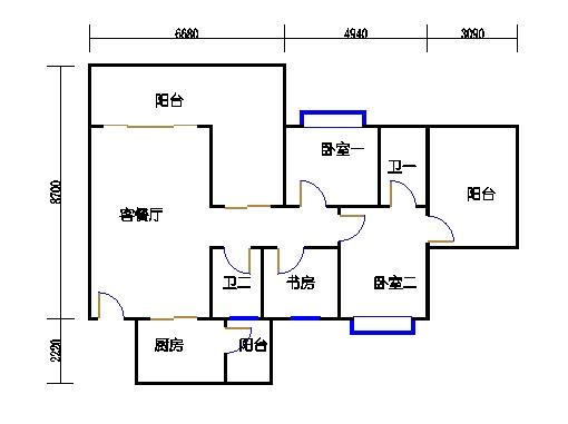 5A1单元偶数层