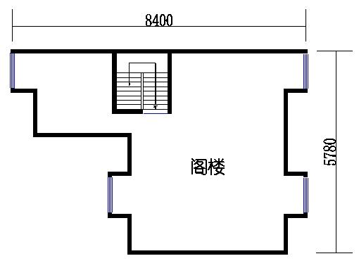 B单元03阁楼层