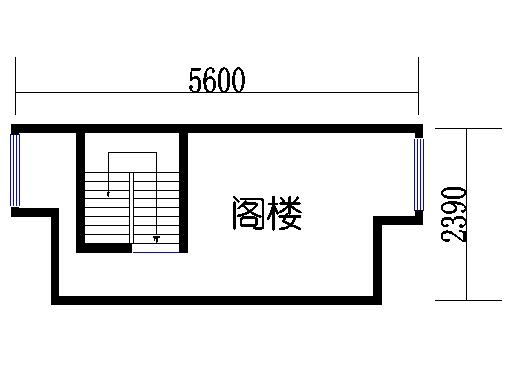 B单元04阁楼层