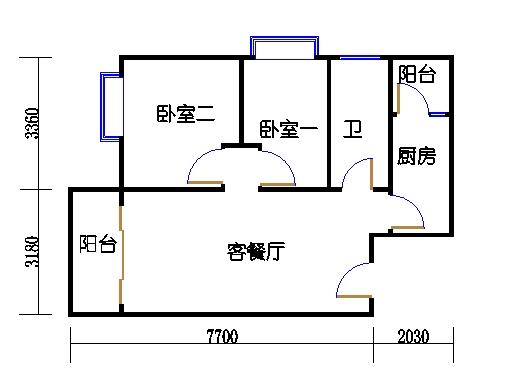1-6座D单元