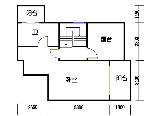 3-17层1603单元上层