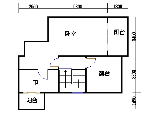 3-17层1604单元上层