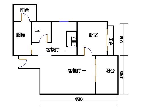 4座16层1502单元下层