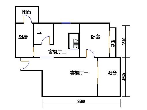 4座16层1503单元下层