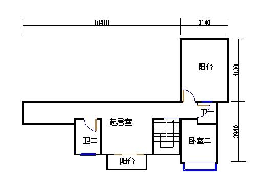 4座16层1504单元上层