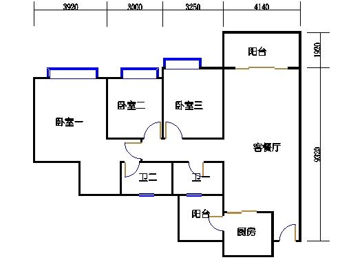 A15栋5-27层04单元