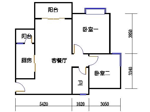 A16栋29-33层06单元