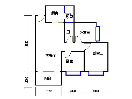 C7栋3层01单元