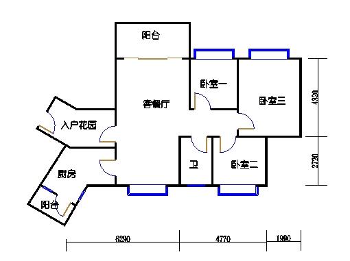 C7栋3层04单元