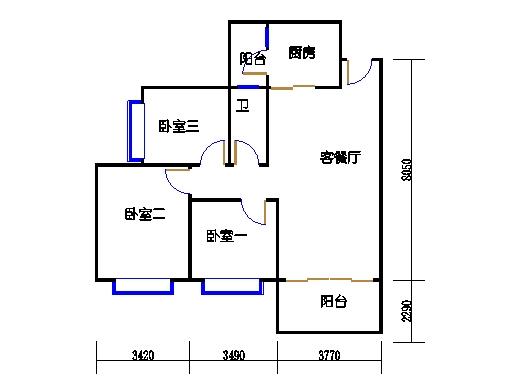 C7栋2层02单元