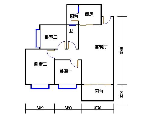C7栋2层05单元