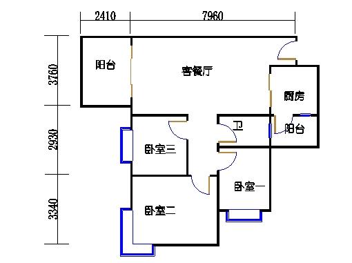 D7栋4层01单元