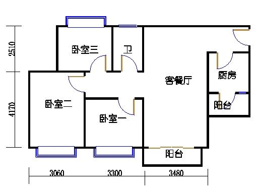 D7栋4层03单元