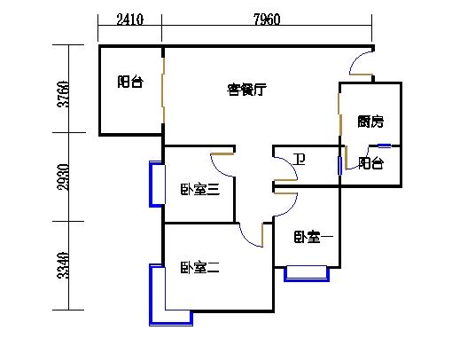 D7栋4层05单元