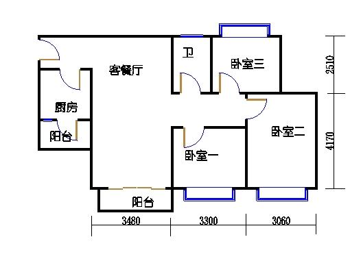 D7栋4层06单元