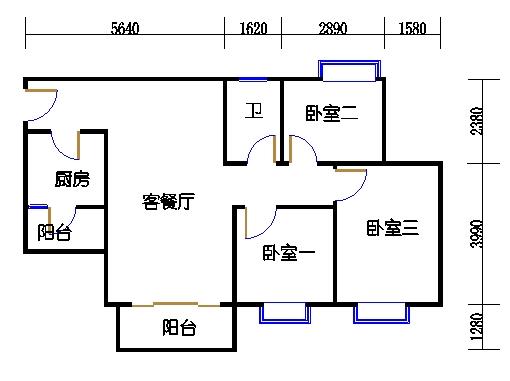 D7栋5-15层06单元