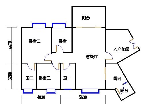 C11栋4层03单元