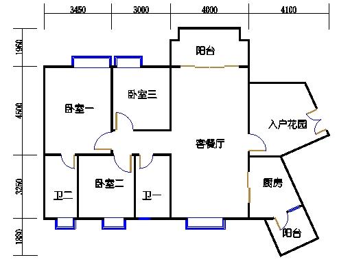 C11栋5-16层03单元