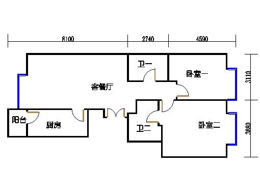 2居B2-B8-01单元