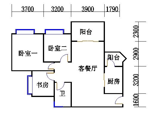 E1栋3-13层05单位