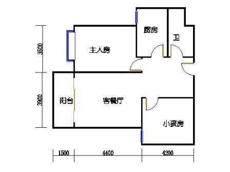B-1号楼C2单元