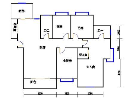 B-2.3号楼b3单元