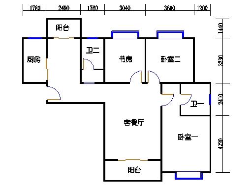 C-1号楼C3单元