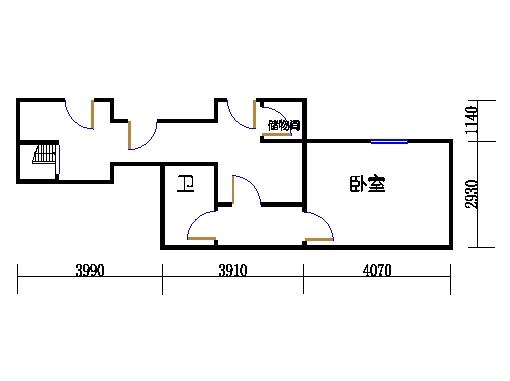 B4单元地下层