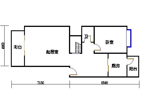 B-2单元2-4.3-5层一层