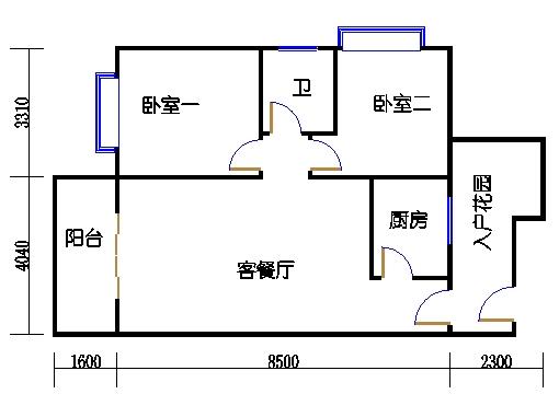 5号楼C8单元