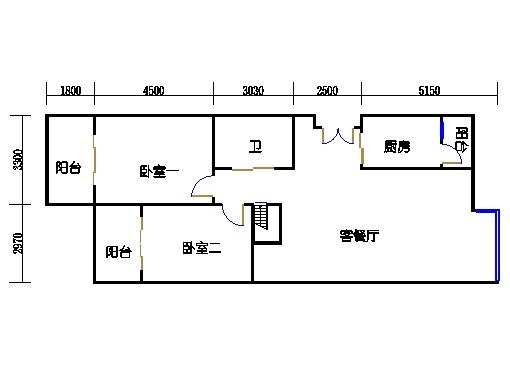 7-d1单元一层