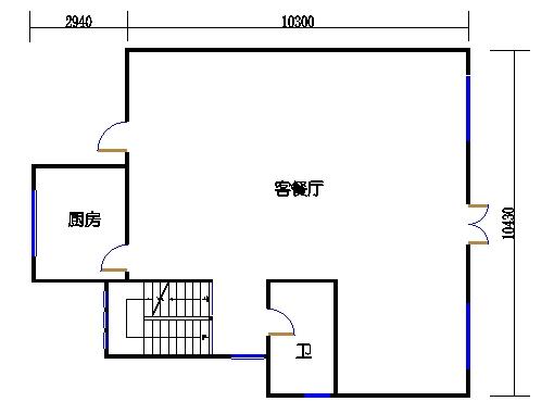 C1单元二层