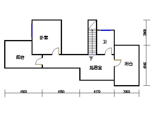 E1单元上层