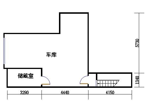 b1-2e单元地下层
