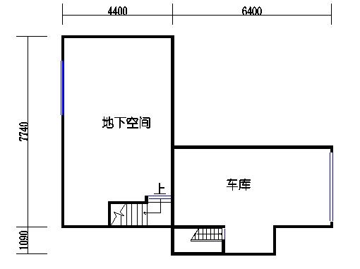 D1单元地下层