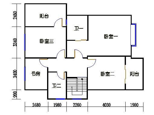 D6单元二层
