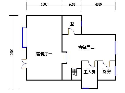 D8单元一层
