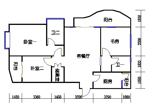38号楼M单元
