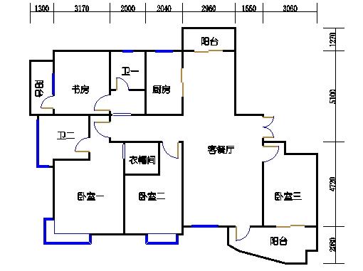 21、23号楼D3单元