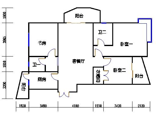 24、25、26号楼B1单元