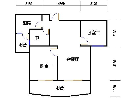 24、25、26号楼B2单元