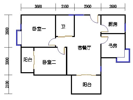 18.24号楼奇数层东边套